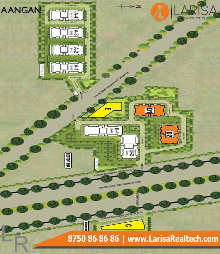 Adani Aangan 88a Site Plan