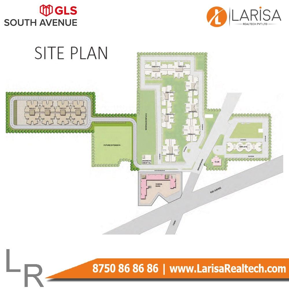 GLS South Avenue Site Plan