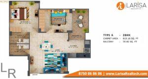 MRG World Ultimus Floor Plan Type A