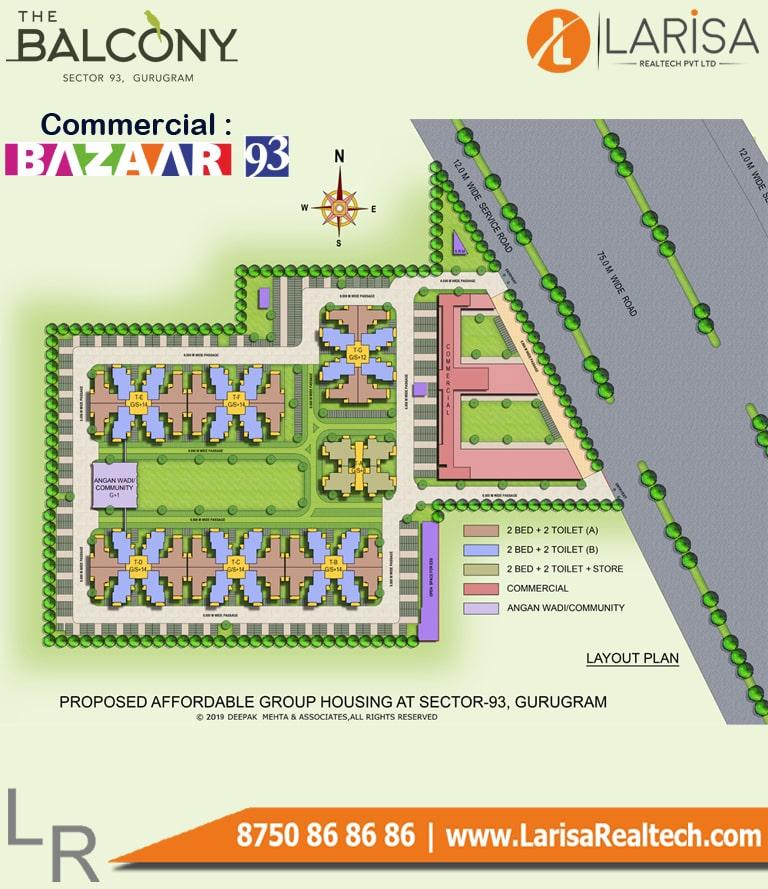 MRG World Bazaar 93 Site Plan