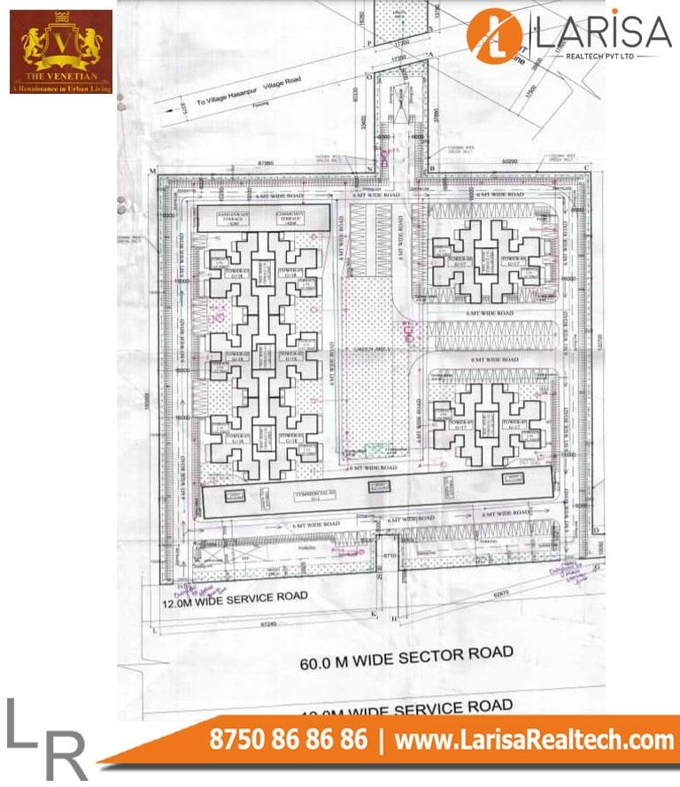 OSB The Venetian Site Plan