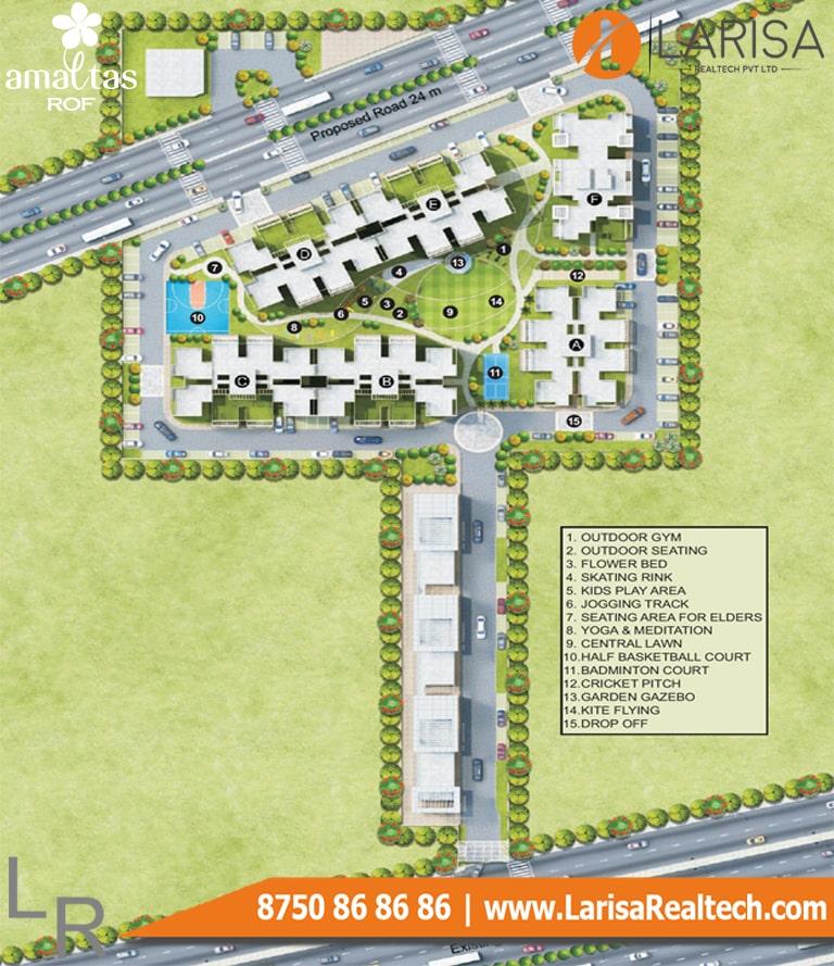 ROF Amaltas Site Plan
