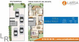 Signature Global Park 4&5 Floor Plan Type a