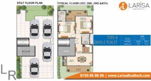 Signature Global Park 4&5 Floor Plan Type b