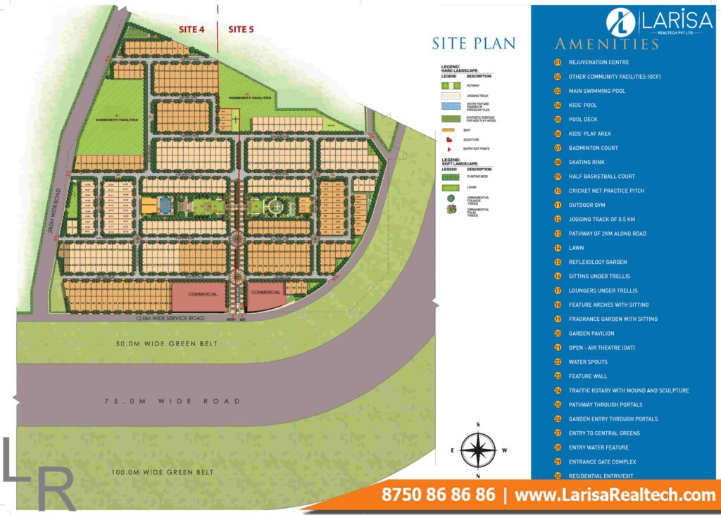 Signature Global Park 4&5 Site Plan