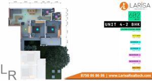 Trisara Our Homes 3 Unit-4 2 BHK