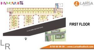 MRG World Bazaar 89 Floor Plan FIRST FLOOR