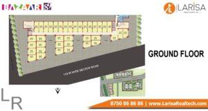 MRG World Bazaar 89 Floor Plan Ground