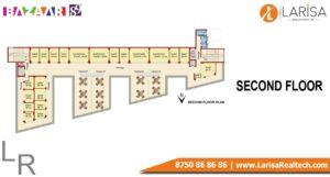 MRG World Bazaar 89 Floor Plan SECOND FLOOR