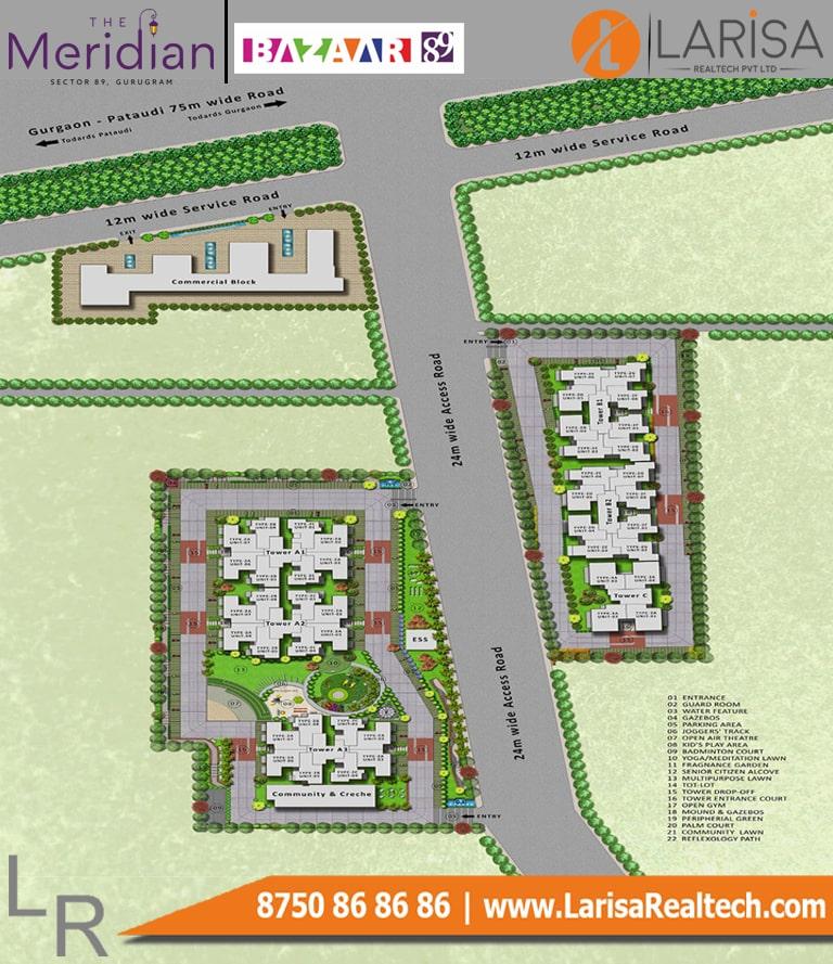 MRG World Bazaar 89 Site Plan