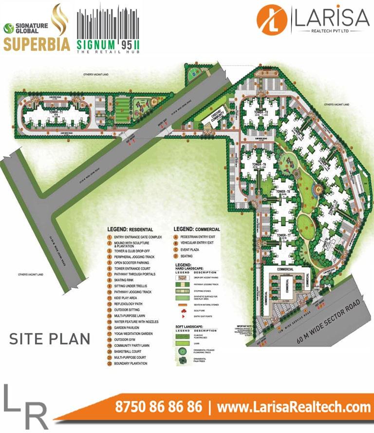Signature Global Signum 95 2 Site Plan