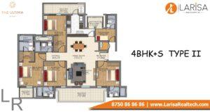 DLF The Ultima Floor Plan