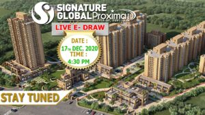 Signature Global Proxima 1 Draw Date and Draw Result