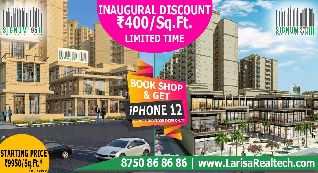 Affordable Shops in Gurgaon