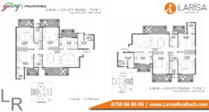 Godrej 101 Floor Plan