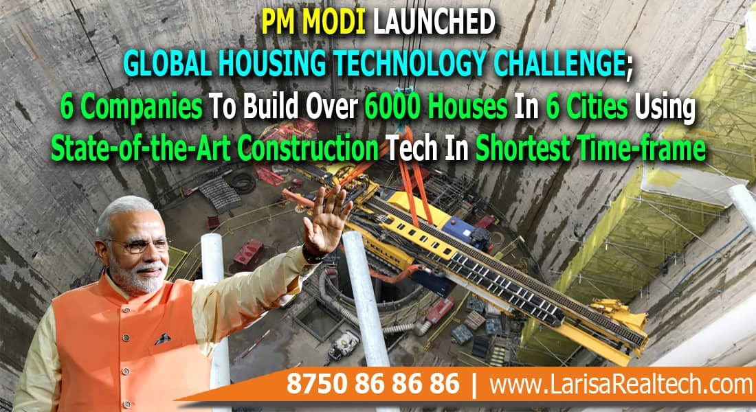 PM Modi Launched Global Housing Technology Challenge