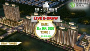 Signature Global The Millennia 3 draw result