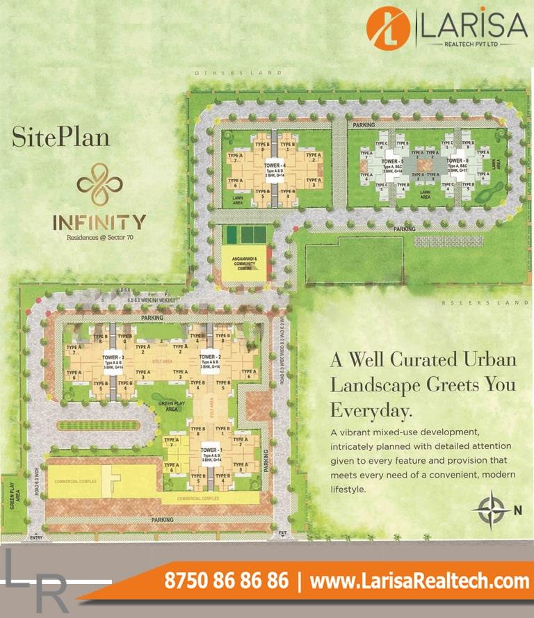 Pyramid Infinity Site Plan