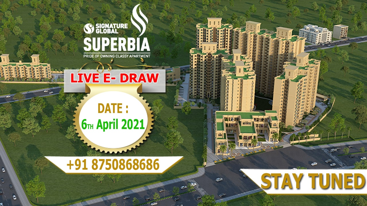 Signature Global Superbia Draw Date and Draw Result