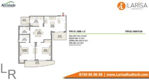 Eldeco Accolade Floor Plan 1