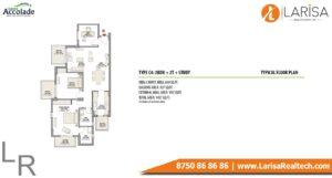 Eldeco Accolade Floor Plan 2