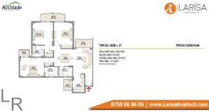 Eldeco Accolade Floor Plan 3