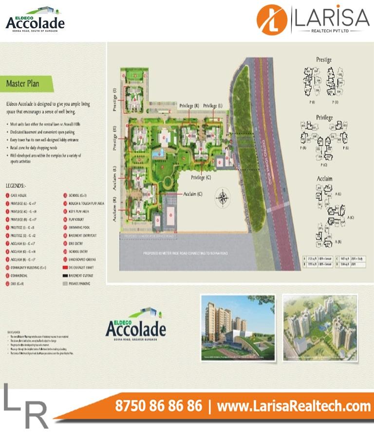 Eldeco Accolade Site Plan