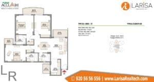 Eldeco Acclaim Floor Plan