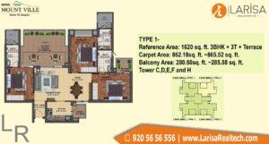 Mapsko Mount Ville Floor Plan