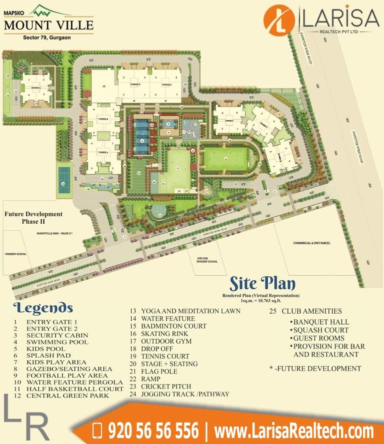Mapsko Mount Ville Site Plan
