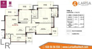Ashiana Mulberry The Crown Floor Plan