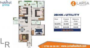 Conscient Habitat Prime Floor Plan