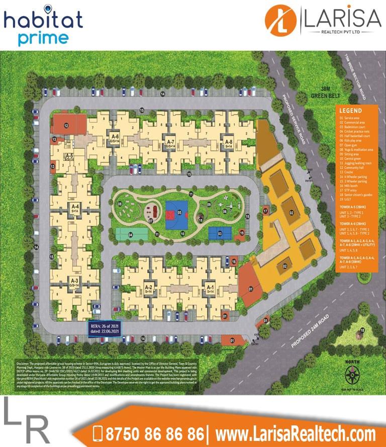 Conscient Habitat Prime Site Plan