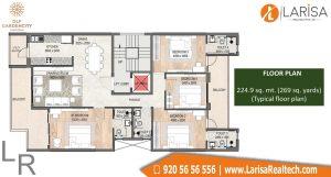 DLF Garden City Floors Floor Plan 2