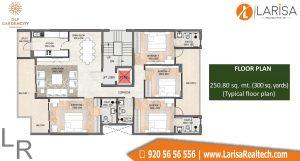 DLF Garden City Floors Floor Plan 3