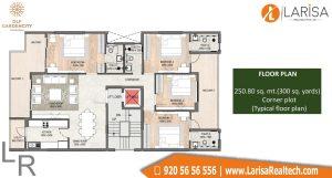 DLF Garden City Floors Floor Plan 4