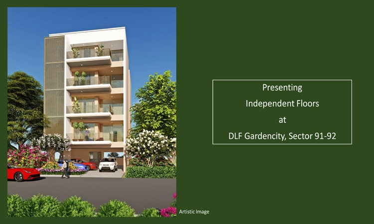 DLF GARDEN CITY Independent FLOORS SECTOR 92 GURGAON