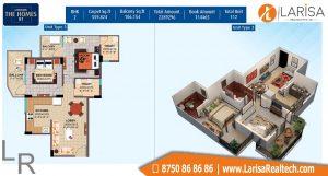 Landmark The Homes Floor Plan