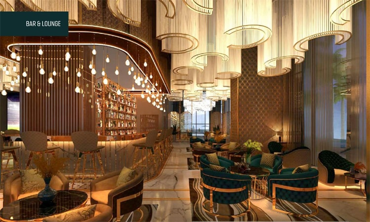 M3M GoldRush Boutique Floors Club House 2