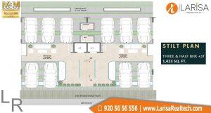 M3M GoldRush Boutique Floors Floor Plan 2