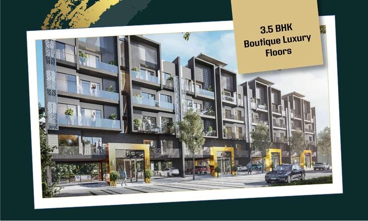 M3M GoldRush Boutique Sector 89 Gurgaon Floors
