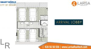 Smart World City of Dreams Floor Plan 1