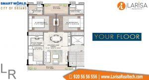 Smart World City of Dreams Floor Plan 3