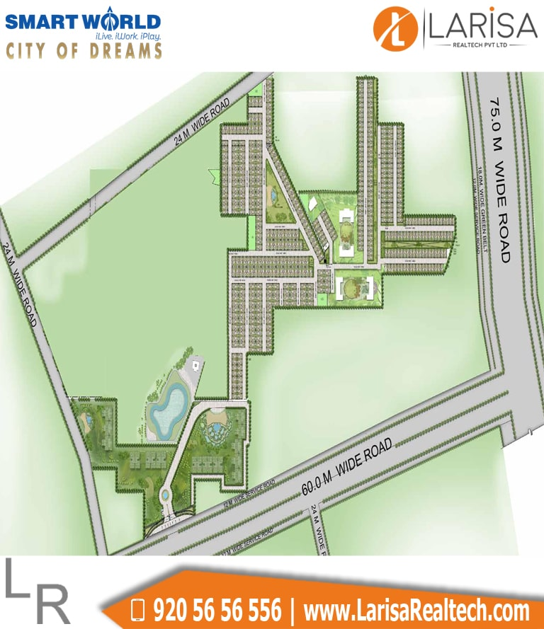 Smart World City of Dreams Site Plan
