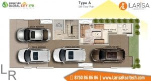 Signature Global City 37D Floor Plan A3