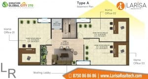 Signature Global City 37D Floor Plan A4