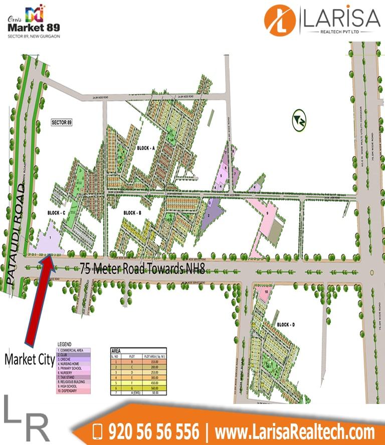 Orris Market 89 Site Plan