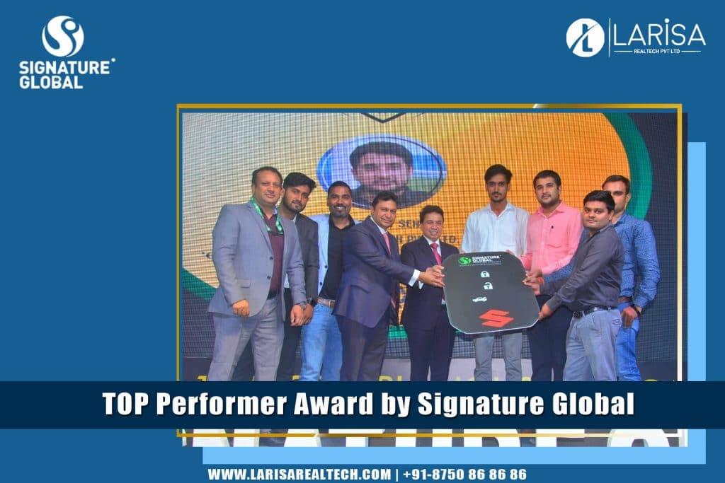 signature global best performer award