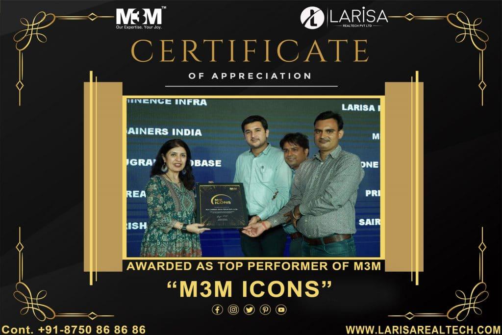 m3m icon award