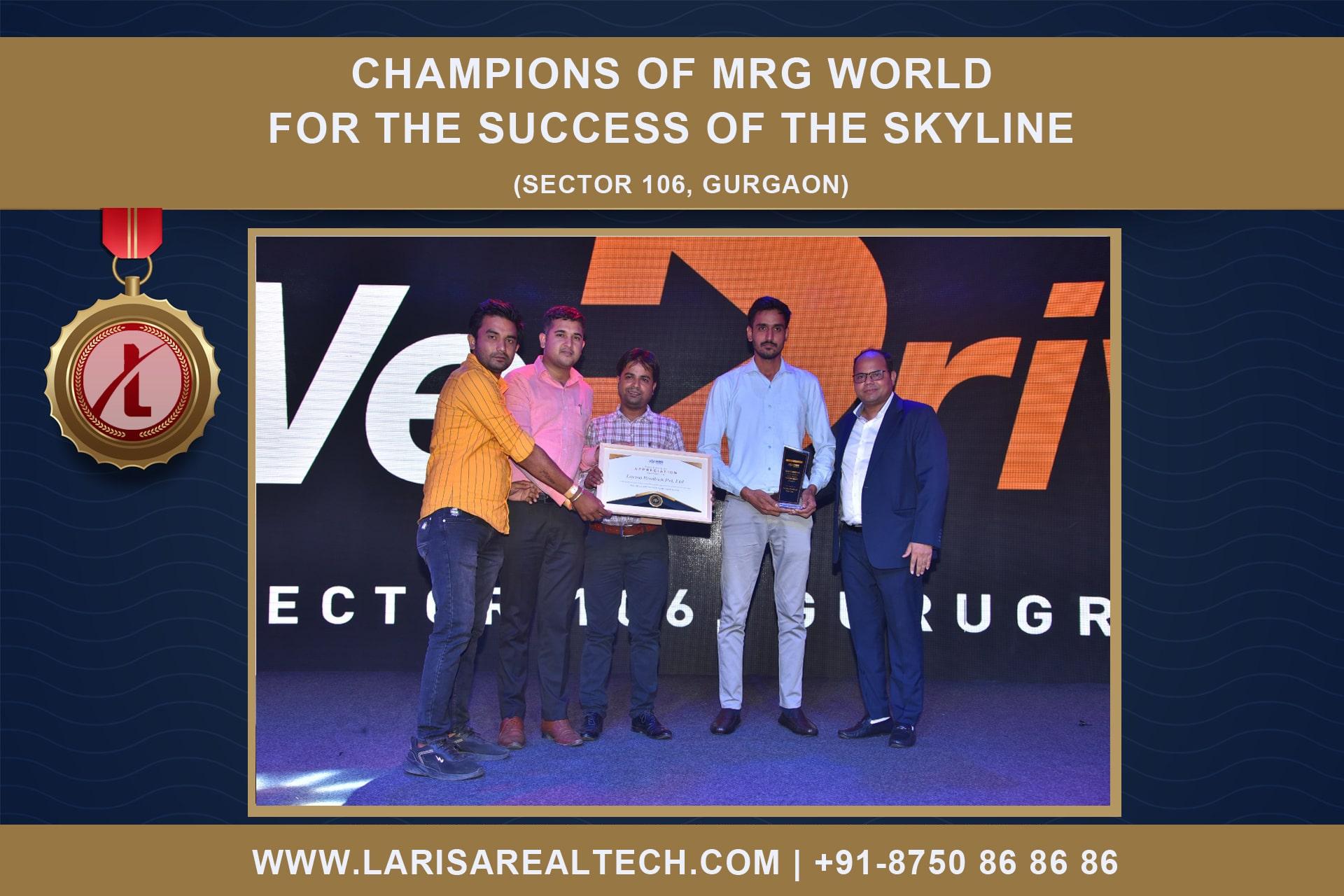 best performer award of mrg world